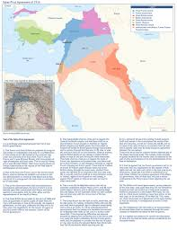 Mecca On Map Sykes Picot Agreement Fanack Com