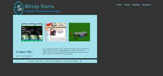 mindy u0027s e portfolio portfolio page
