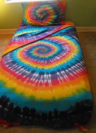 Tie Dye Bed Sets Tie Dye Comforter In Showy Size Comforter Set Bedding