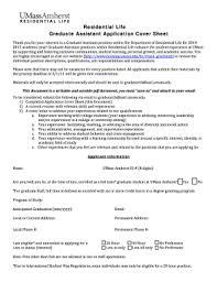 cover letter graduate assistantship recommendation letter for