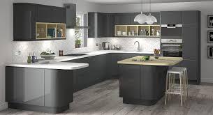 grey kitchen design high end kitchen design grey kitchen walls with oak put cupboards