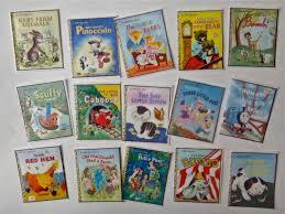 16 vintage disney golden books children s book