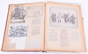 Large Scrapbook Wwi Scrapbook