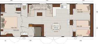 les 3 chambres neuf mobil home a vendre irm island 3 chambres cing le
