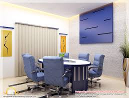 office design gallery beautiful 3d interior office designs kerala home design and