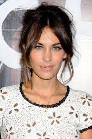alexa chung hair style file short hairstyles medium short