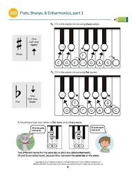 printables u0026 audio for piano unit six lessons 101 120 hoffman