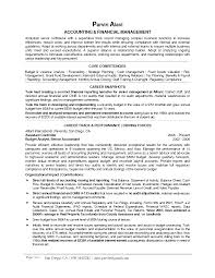 Career Objective In Cv For Accountant Professional Professional Accounting Resume Samples