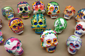 Backyard Skulls A Sugar Skull Workshop Tony Bennett Zombie Prom And Other Stuff