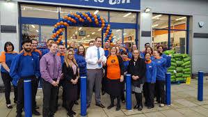 b u0026m lifestyle first b u0026m store causes crawley celebrations