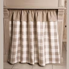 rideau cuisine rideaux et voilages rideau sous évier grands carreaux