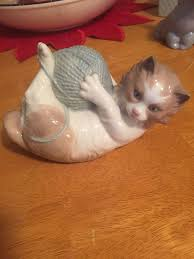 599 best lladro cats images on figurine porcelain and