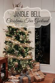 make a jingle bell tree garland fox hollow cottage
