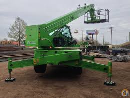 merlo roto 45 21mcss crane for sale in oxford massachusetts on