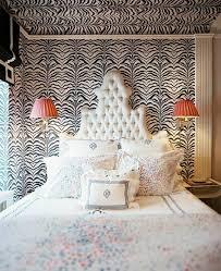 chambre style africain déco chambre originale aux imprimés zèbre design feria