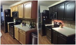 rustoleum kitchen cabinet paint diy painting kitchen cabinets before and after pics