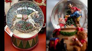 a snow globe christmas youtube
