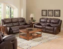Genuine Leather Reclining Sofa Genuine Leather Sofa And Loveseat Centerfieldbar Com