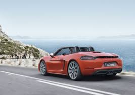cayman porsche convertible 718 boxster and cayman to debut turbocharged flat four engine