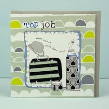 Congrats On New Job Card Good Luck Cards Collection Karenza Paperie