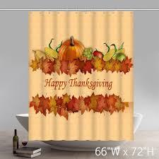 unique liberty happy thanksgiving bathroom shower curtains