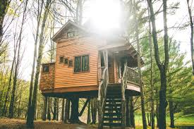 Tree House Home by Three Tree Houses You Can Rent In New England