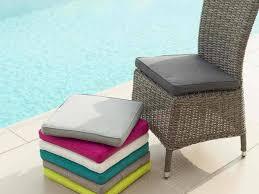 galette de chaise de jardin 40 x 40 cm