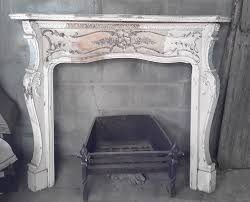 antique rococo wood u0026 plaster fire surround watling reclamation
