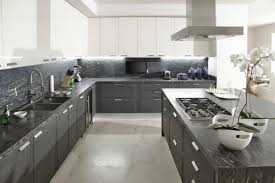 Kitchen Design Grey Gray And White Kitchen Designs Photo Of Grey And White
