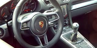 Porsche Cayman Interior Car Review 2017 Porsche 718 Cayman Driving