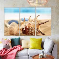 Home Decoration Paintings Compare Prices On Shells Canvas Wall Art Online Shopping Buy Low
