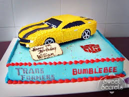 transformers cakes 61 birthday cake ideas by 61 bumblebee with base