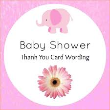 9 baby shower thank you wording questionnaire template