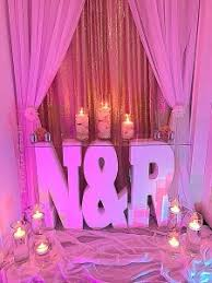 wedding backdrop initials backdrops signs the party place li the party specialists