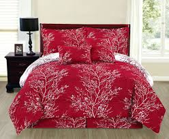 Red And Grey Comforter Red And Black Comforter Sets Queen White Plaid Set