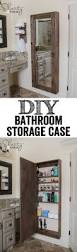 Storage Ideas For Small Bathrooms With No Cabinets by Creative Ideas For An Organized Bathroom Bathroom Organization