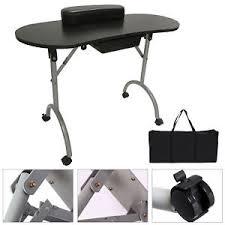 Nail Tech Desk by Portable U0026 Foldable Manicure Table Nail Technician Desk