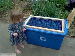 diy brooder box farming my backyard
