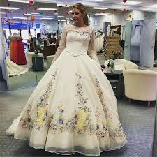 cinderella wedding dress charming cinderella wedding dresses handmade flowers embroidery