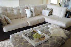 beautiful pillows for sofas inside out design how to do buttonless tufting on couch cushions