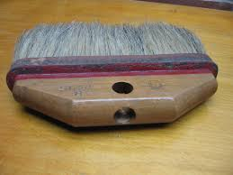 Horsehair Bench Brush Vintage Horse Hair Brush Shop Bench Counter Whisk Broom Shop
