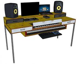 Corner Studio Desk Interior Design Recording Console Desk Audio Studio Furniture