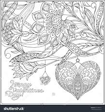 happy valentine day card decorative love stock vector 357302612