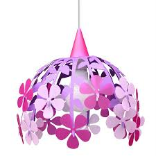 Chambre Fille Violet by Lampe Suspension