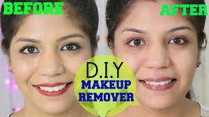 how to remove makeup natural homemade makeup remover