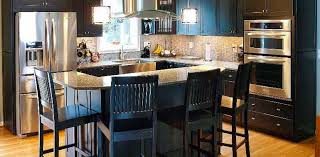 Photos Of Kitchen Islands Kitchen Islands Ideas For Busy Maine Families Heartwood Cabinets