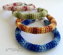 crochet bracelet images Beautiful crochet bracelet maki crochet patterns jpg