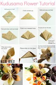 Home Decor Tutorial by Kusudama Flower Tutorial Flower Tutorial Tutorials And Flower