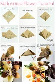 kusudama flower tutorial flower tutorial tutorials and flower