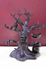 Black Halloween Lights Black Halloween Tree Tea Light Tart Burner My Yankee Candles